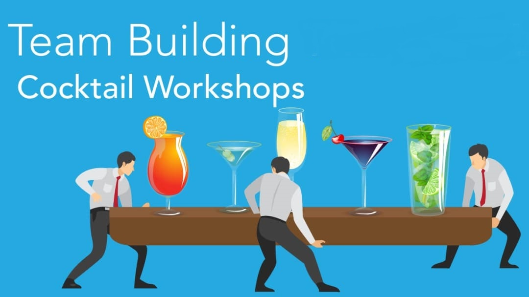 TEAM BUILDING THAT ISN'T LAME COCKTAIL WORKSHOPS