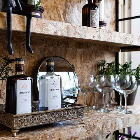 Gemelli Gin your garden counter