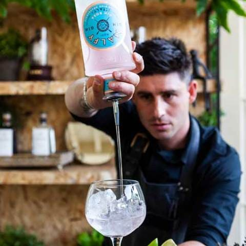 Gemelli Gin your garden waitron