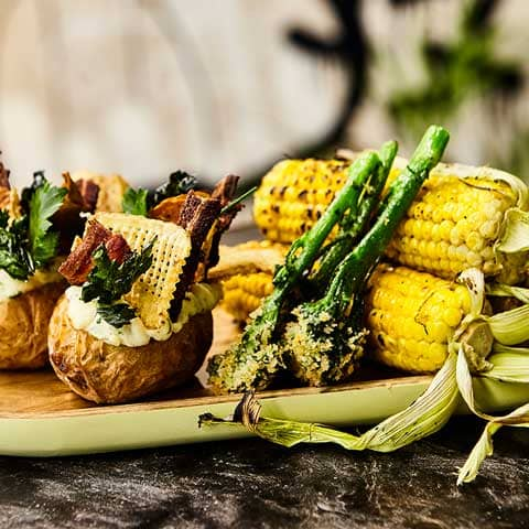Mesh Gin your garden food off the braai