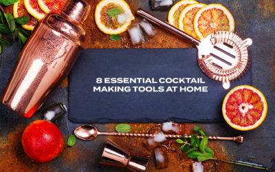 8 Essential Cocktail Making Tools At Home